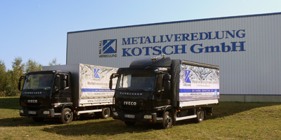 Metallveredlung Kotsch company trucks